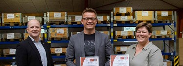 Bureau Veritas presented ISO 14001 and ISO 45001 certificates to BSB Industry
